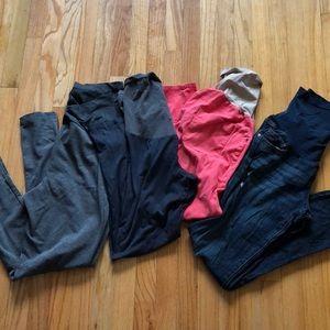 BUNDLE 4 pairs of maternity pants